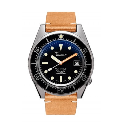 Squale 1521 blasted leather...