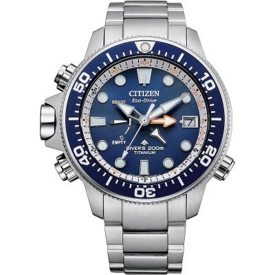 Citizen BN2041-81L promaster aqualand quadrante blu titanio