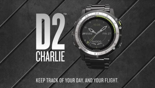 Garmin D2 charlie l'orologio per gli appassionati di volo