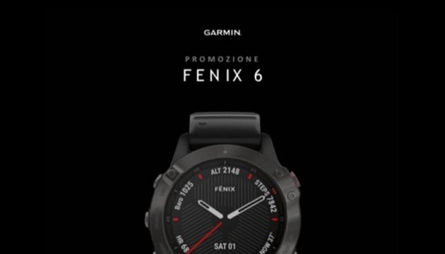 Garmin rottamazione Fenix 6